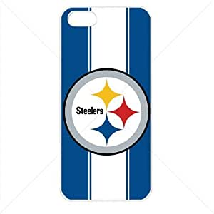 NFL American football Pittsburgh Steelers Case For Samsung Note 4 Cover PC Soft (White)