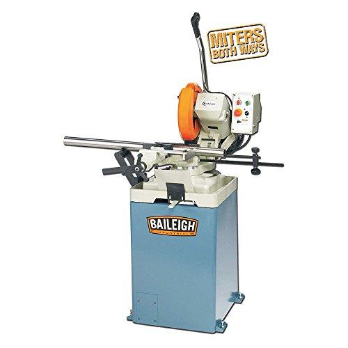 Baileigh CS-315EU Manual Circular Cold Saw, 1-Phase 220V, 2.5hp Motor, 12-1/2'' Blade Diameter by Baileigh