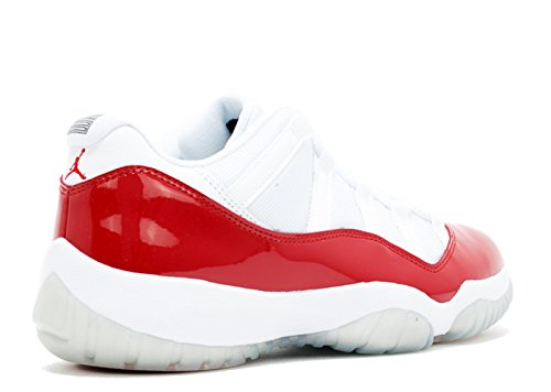 Basketballschuhe white Jordan Herren varsity Retro Low 11 Nike red black Air qYHxnwC