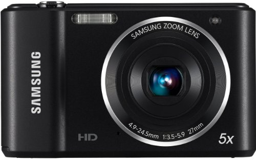 Samsung ES90 Compact Digital Camera - Black (14.2MP, 5x Optical Zoom) 2.7 inch LCD