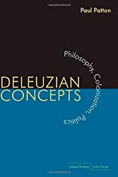 Deleuzian Concepts: Philosophy, Colonization, Politics (Cultural Memory in the Present)