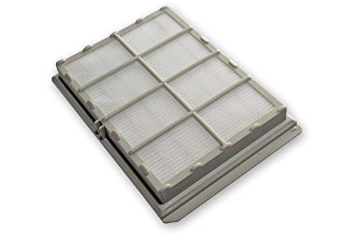 vhbw Filtro de salida de aire Hepa de recambio para alergicos para aspiradoras UFESA AC5500/05, AC5500/06, AC5500/09, FA0500