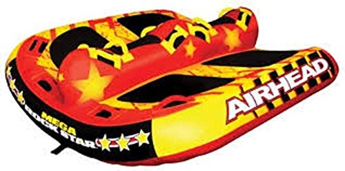 4 Inflatable Towable Tube - AIRHEAD AHRS-6 Airhead Mega Rock Star Towable