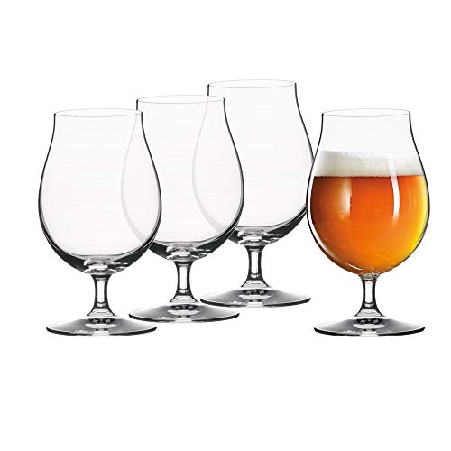 (Spiegelau 4991974 Tulip Classics Beer (Set of 4), Clear)