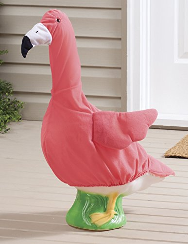 Miles Kimball Flamingo Goose Outfit