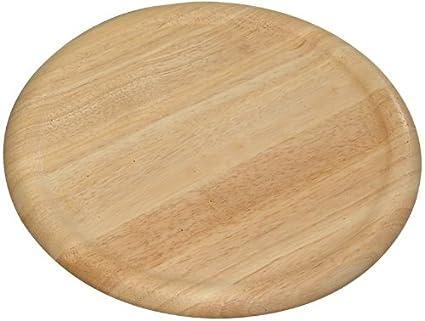 Kesper 60462 - Plato para pizzas de madera de caucho 86e3dce2f3f9