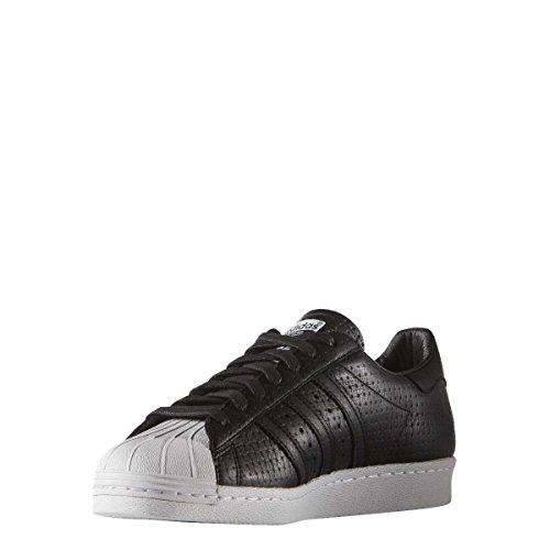 Homme Woven Superstar 80's Adidas Baskets Mode Noir fU0qxwa