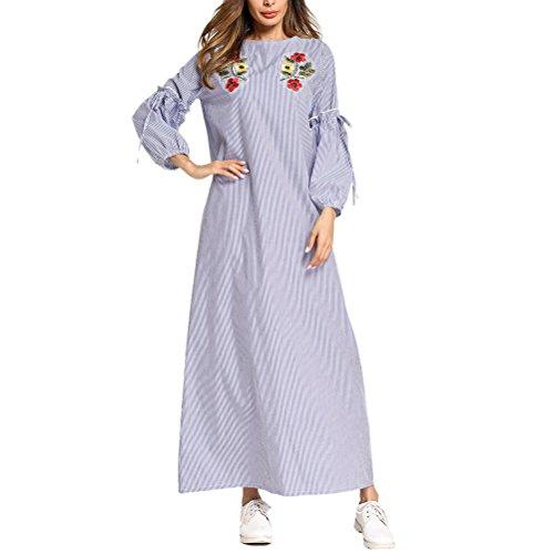 クーポン日光マディソンZhhlinyuan Vintage ロング マキシドレス カジュアル Islamic Jalabiya Abaya ドレス for 女性レディース Dubai Moroccan Available in 8つのスタイル
