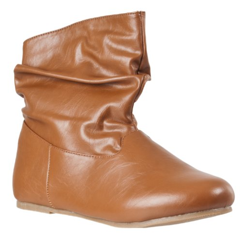 Mid Rebeca Chestnut Womens Fashion Slouchy Boots Bamboo calf BZgwT