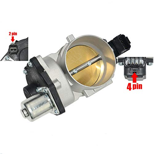 For Ford 04-10 F-150 F250 5.4L V8 Throttle Body w/TPS Sensor 8L3Z9E926C