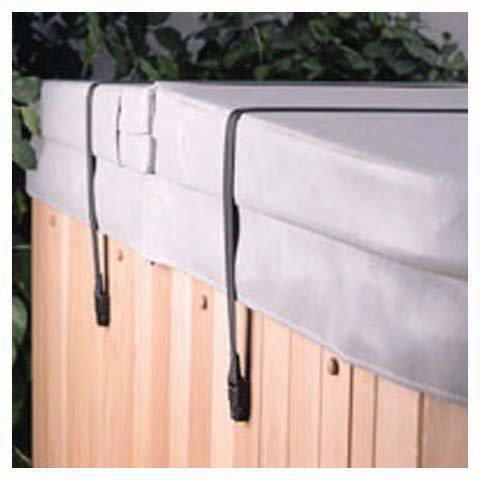 Hot Tub and Spa Cover Secure Straps, Spa Cover Straps. Happy Hot Tubs 8140