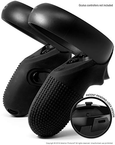 Evolution Controller Skins for Oculus Quest/Rift-S by Asterion - Premium Gel Shell Silicone Grip Protection Covers with… 1
