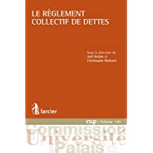 Le règlement collectif de dettes (Commission Université-Palais (CUP) t. 140) (French Edition)