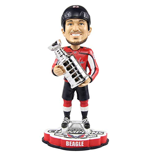 FOCO Jay Beagle Washington Capitals 2018 Stanley Cup Champions Bobblehead NHL -