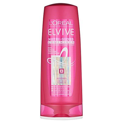 L'Oreal Elvive Nutri-Gloss Luminiser Conditioner 400Ml
