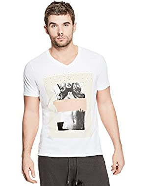Men's Censored V-Neck Tee