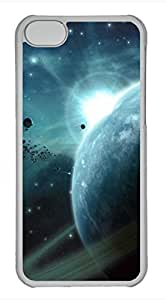 iPhone 5c case, Cute Asteroids Field iPhone 5c Cover, iPhone 5c Cases, Hard Clear iPhone 5c Covers