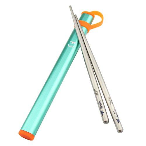 Super Lightweight Titanium Chopsticks Aluminium