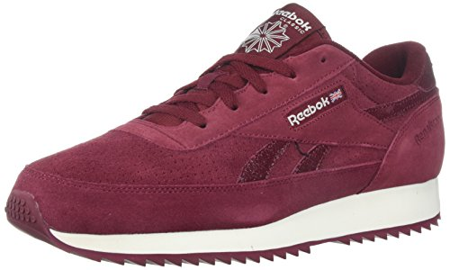 Reebok Menns Cl Renessanse Rippel Sneaker Oss-kollegialt Burgunder / Ch