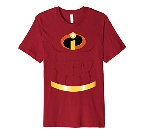 Disney Pixar Incredibles Suit With Muscles Premium T-Shirt -