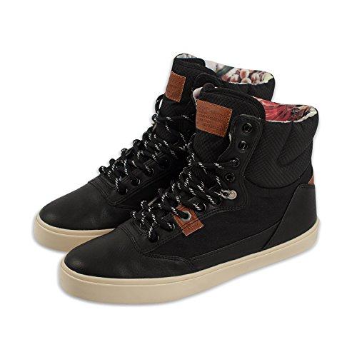 DJINNS - Alote Canvas (black) - Sneaker Black