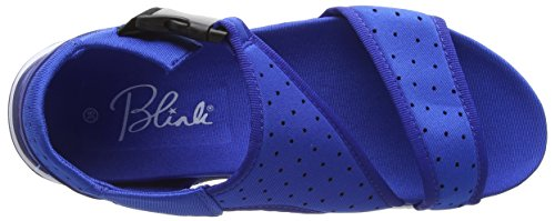 Femme Blau 74 Blink Bleu Ouvertes Bcoin sandall Sandales Cobalt UnnxFqPH