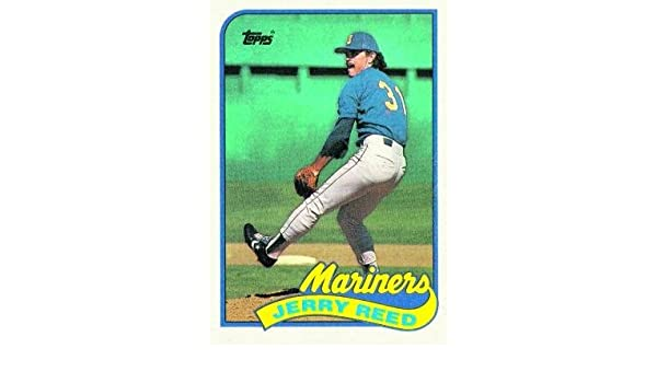 Amazoncom 1989 Topps 441 Jerry Reed Seattle Mariners
