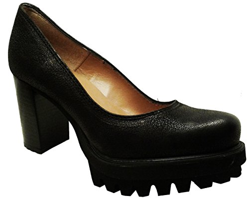 Zapato 29461 PEDRO MIRALLES Piel Negro decollete EN Color SExZR