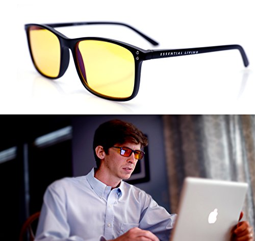 Performance Blue Light Blocking Glasses: Block 95% of Blue Light with Blue Blocker Glasses - Glass Block Light