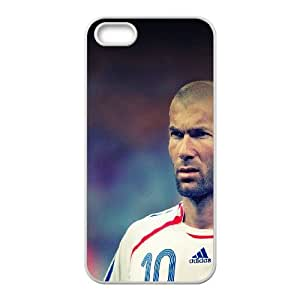 iPhone 5 5s Cell Phone Case White zidane face sports art FXS_586727