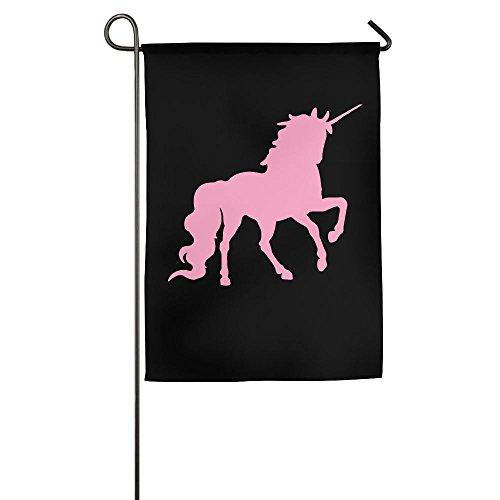 XIA&FLAG Sports Flag Pink Unicorn Polo Horse Durable Translu