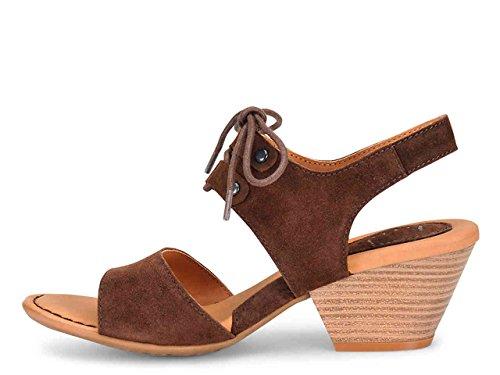 Sandalo Boc Blair Marrone Scuro Pelle Scamosciata Donna Taglia 8 M