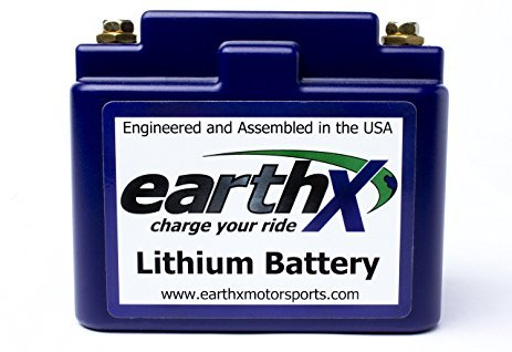 EarthX ETZ5G LITHIUM LiFePO4 Dirt Bike Battery With Integrated Management System by EarthX