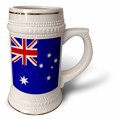 InspirationzStore Flags - Australian Flag - Australia Patriotism for Aussie patriots - countries of the world flags - Oceania - 22oz Stein Mug (stn_112808_1)