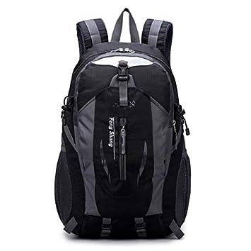 Nuevo Alpinismo Exterior Mochila Escolar de Gran Capacidad Mochila de Viaje Bolsa de Deporte para Hombres Mochila de Viaje Femenina Coreana: Amazon.es: ...