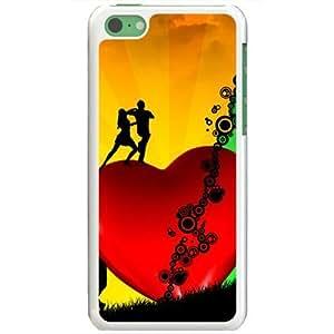 Apple iPhone 5C Case EMO Love Love Everybody Needs Love Normal Love White hjbrhga1544