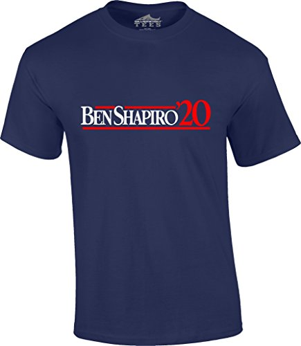 Ben Shapiro 2020 For President Republican Conservative Poster NeverTrump T-shirt