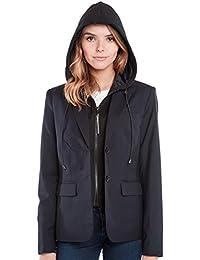 "<span class=""a-offscreen"">[Sponsored]</span>Travel Jacket - Blazer - Female - NAVY - XS"