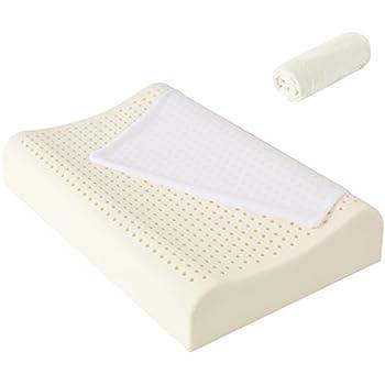 Amazon Com 100 Organic Latex Contour Neck Pillow