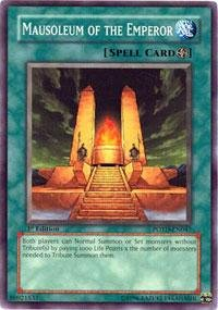 Yu-Gi-Oh! - Mausoleum of the Emperor (POTD-EN047) - Power of the Duelist - 1st Edition - Common