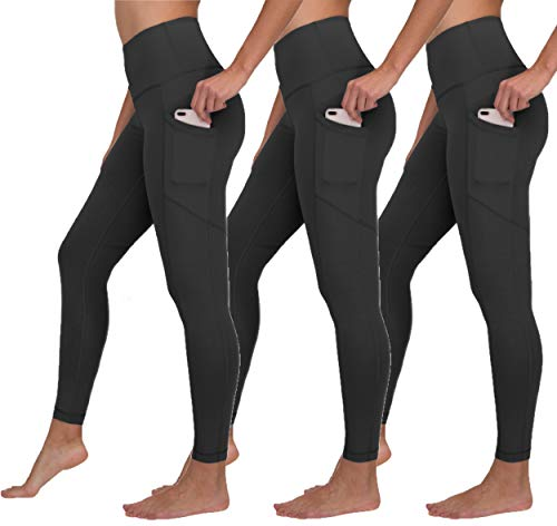 Black ankle length 3 pack