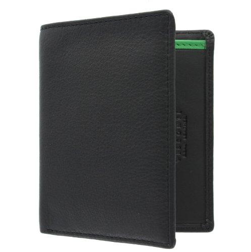 Black Bond Collection Cobalt Leather Visconti Green BD14 Gents 'JAMES' Wallet tqE80x8