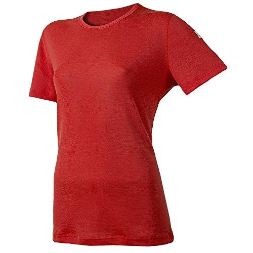Janus Summerwool 100% Merino Wool Women's T-Shirt Machine Washable Made In Norway (X-Large, (Womens Wool 2 T-shirt)
