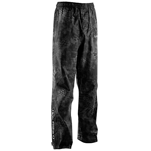 Huk H4000019-070-L Camo Packable Pant, Kryptek Typhon, Large