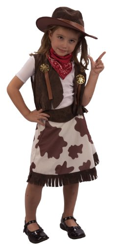 3 Years Toddler's Cowgirl Costume by Henbrandt - Toddler Cowgirl Costume