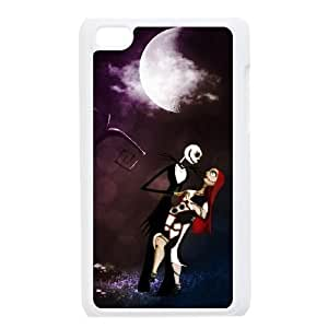 iPod 4 White Cell Phone Case The Nightmare Before Christmas KVCZLW2225 Phone Case Cover 3D Protective