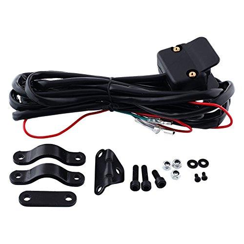 Duoying ATV-MR Mini-Rocker Interruptor de Manillar Cable 3M