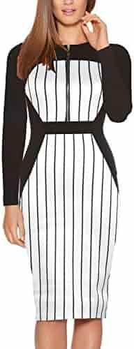1affae5799bda Fantaist Women's Sleeveless Deep V Neck Floral Print Cocktail Party Pencil  Dress