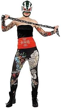 DISBACANAL Disfraz Pressing Catch luchadora mejicana Mujer - -, M