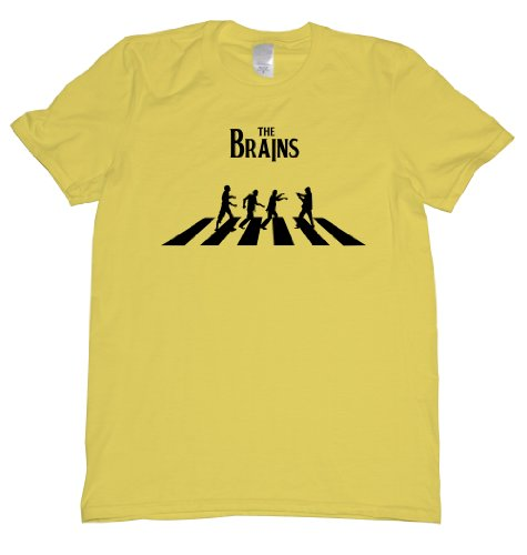 The ZomBeatles Tee Shirt Mens XXL yellow N